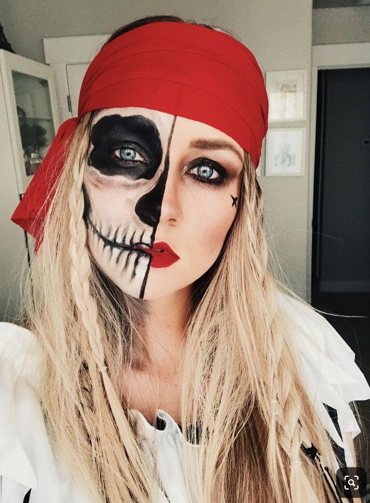 Pin de Alicia Aguilar en katrina Maquillaje halloween