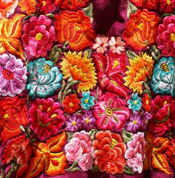 Oaxacan Embroidery - Google Search