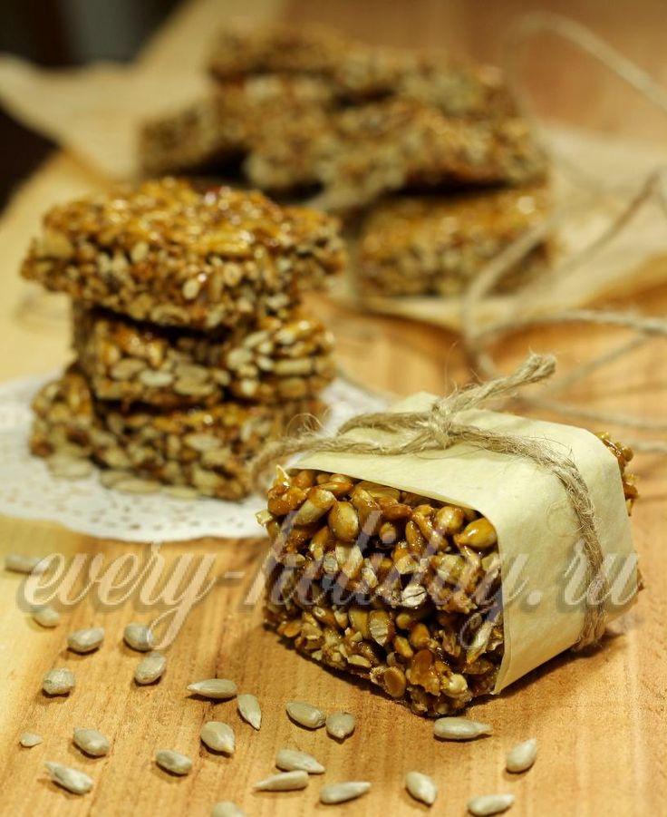 как приготовить козинаки из семечек и меда