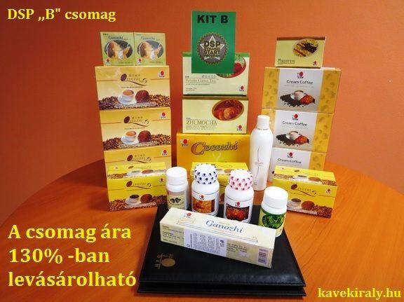 "DSP ,,B"" csomag  kavekiraly.hu A királyok kávéja a gyógynövények királyával"