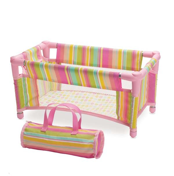 Baby Stella Take Along Travel Crib| Manhattan Toy