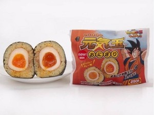 Genkidama Rice Balls. New products will be sold at MiniStop (Convenience store in JPN). 250 yen 元気玉おにぎり