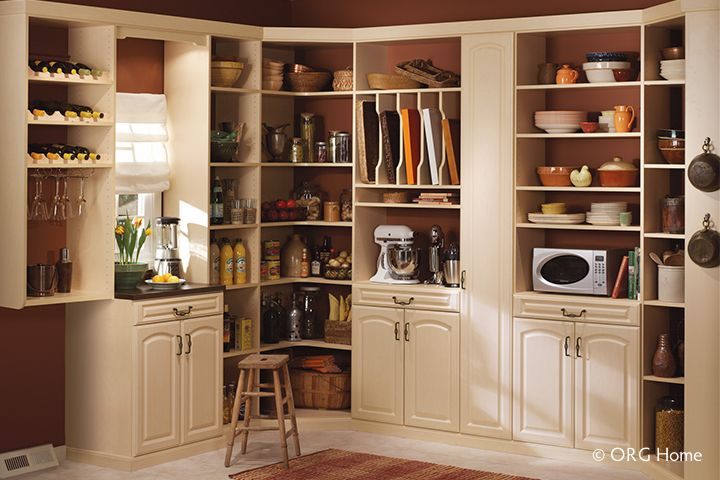 Pantry Organizers & Organization Systems | Organized Spaces - Seattle, Bellevue, Kirkland WA