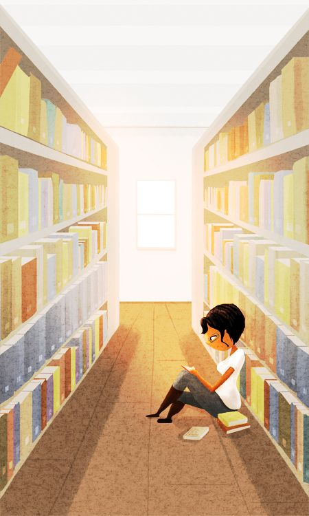 some of my best friends are in the library - artist Nidhi Chanani