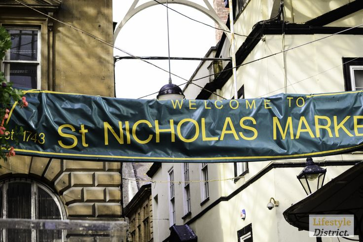St Nicks Market / The old city by day and by night http://www.lifestyledistrict.co.uk/2013/10/things-to-do-in-bristol-st-nicholas-market-cafe-revival/