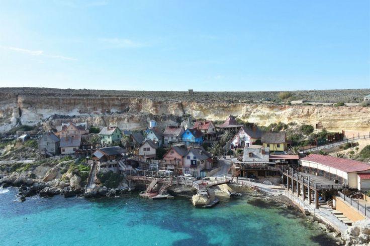 Malta, Popey Village, blue, water, love, travel, trip