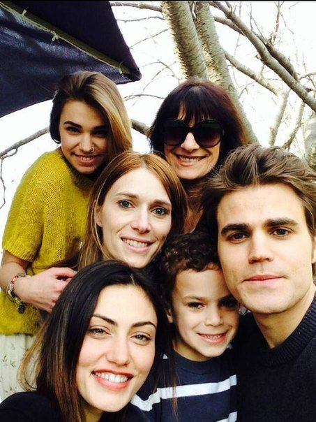 Phoebe Tonkin Celebrates Easter with Paul Wesley and his ...