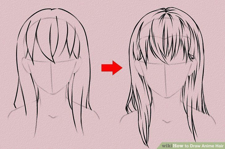 10 Amazing Drawing Hairstyles For Characters Ideas How To Draw Anime Hair Manga Hair Anime Hair