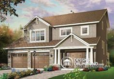Plan de maison no. W3443 de dessinsdrummond.com