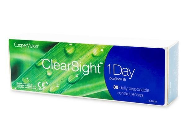 Buy ClearSight 1 Day 30 Pack contact lenses online. 50-70% off retail contact lenses in Canada. Get free shipping to Canada or US. No minimum order needed! No taxes!