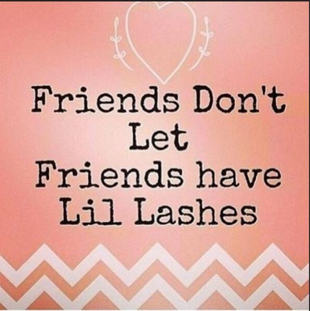 True Story! Fortunately, there's a cure! Younique 3D Fiber lashes