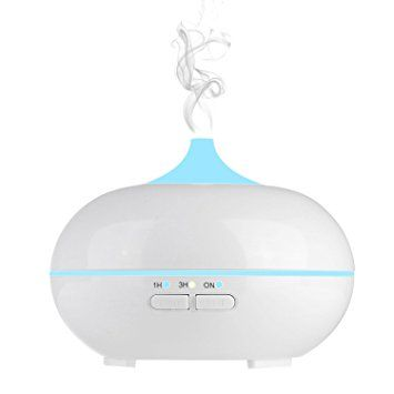 Aroma Diffuser, Maxnic 150 ML Essential oil Diffuser Electric Ultrasonic Cool Mist Humidifier Aromatherapy with 7 Color LED Lights Changing, Auto Timer and Waterless Auto Shut-off Air Purifier Review