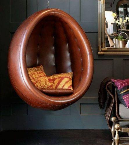 décoration, siège suspendu