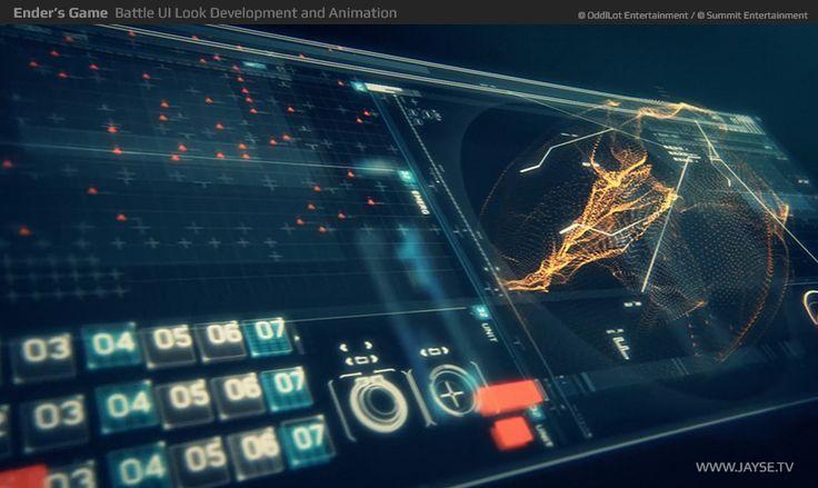 Ender's Game UI Design