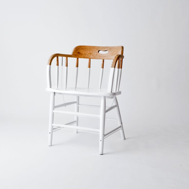 dipped chair - an easy DIY idea (but this is just an image, not instructions)