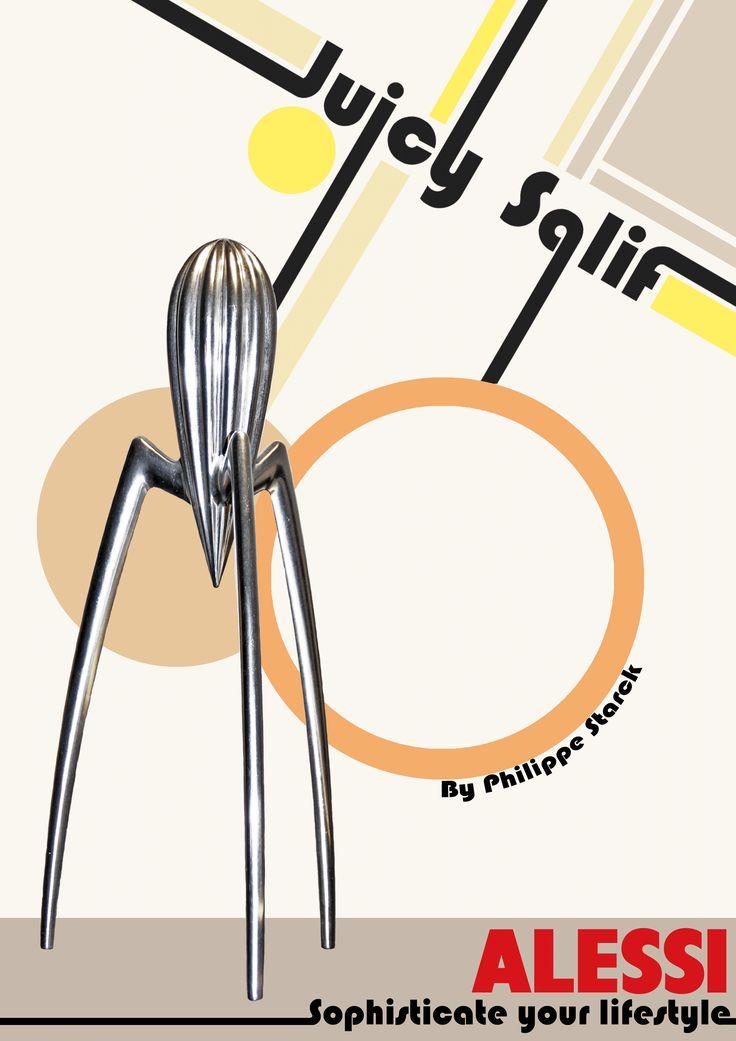 Juicy Salif annonce, Bauhaus. By Kia Lange
