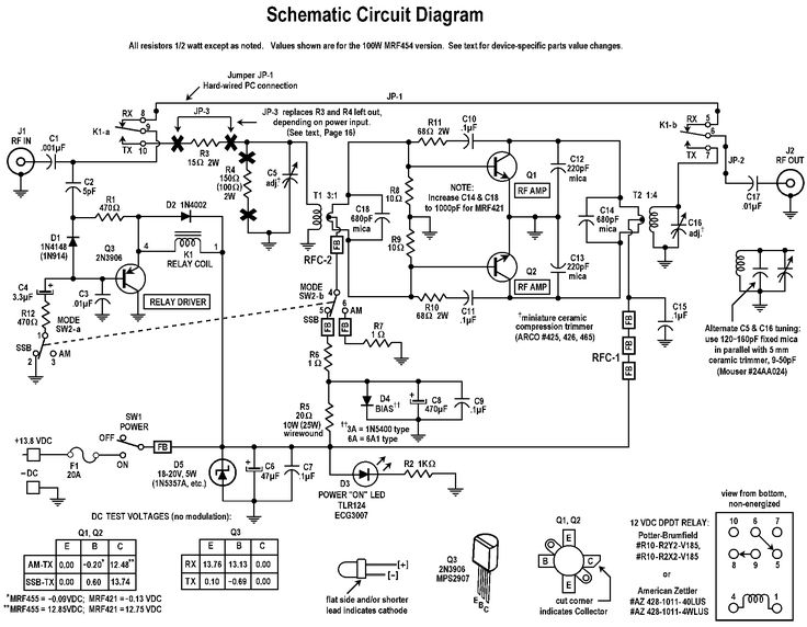 circuit schema diagram baofeng headset