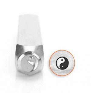Slagstempel Yin Yang, hoogte 6 mm