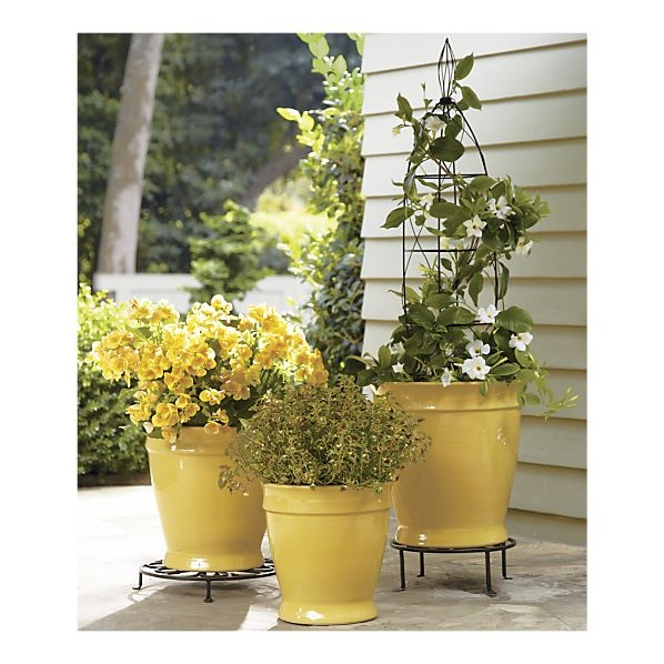 112 best arts crafts container crafts images on pinterest add a trellis to a pot to create dimension without having to find tall planters mightylinksfo