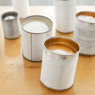 Photo: Tina Rupp   thisoldhouse.com   from How to Create Tin-Can Lanterns