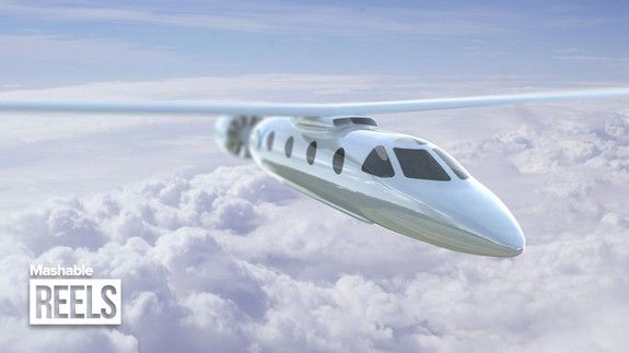 Would You Fly In An Electric Plane Electric Aircraft Electricity Aeroplane