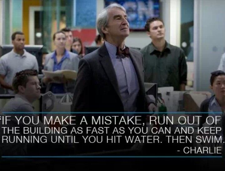 The Newsroom - words can't describe my love for this show