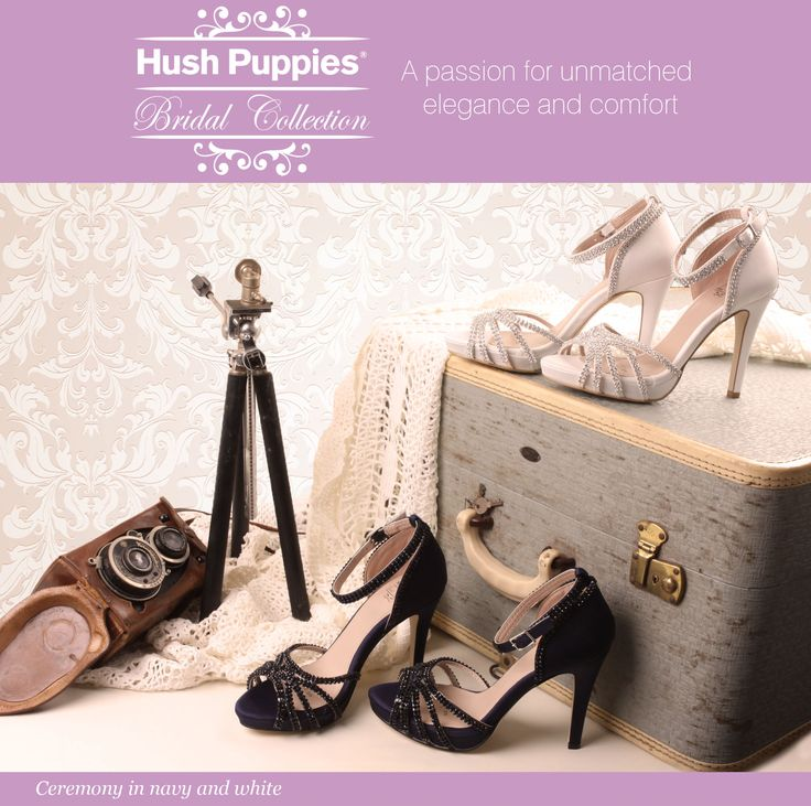 Bridal Wardrobe's new Hush Puppies Wedding Shoes collection - IN STORE