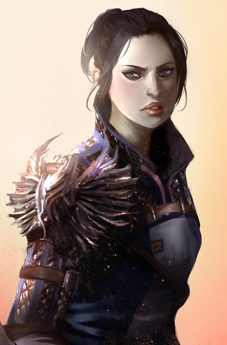 Inquisitor Trevelyan in Warden Armor  by Lilerilala2 - Dragon Age Inquisition
