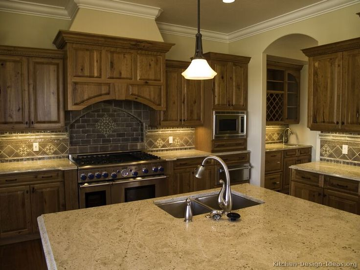 #Kitchen Idea Of The Day: Old World Kitchen Designs.