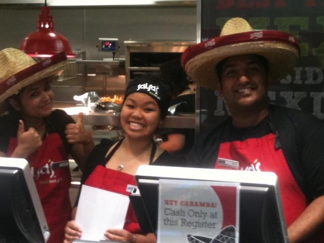 Salsa's Fresh Mex Grill, The Glen, VIC