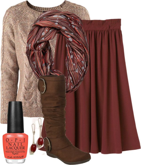 """""""Teacher Outfits on a Teacher's Budget"""" by allij28 on Polyvore The fall colors are gorgeous, could I do this with tights?"""
