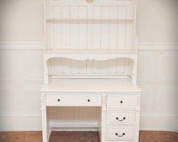 Stella Desk with Hood - Antique White