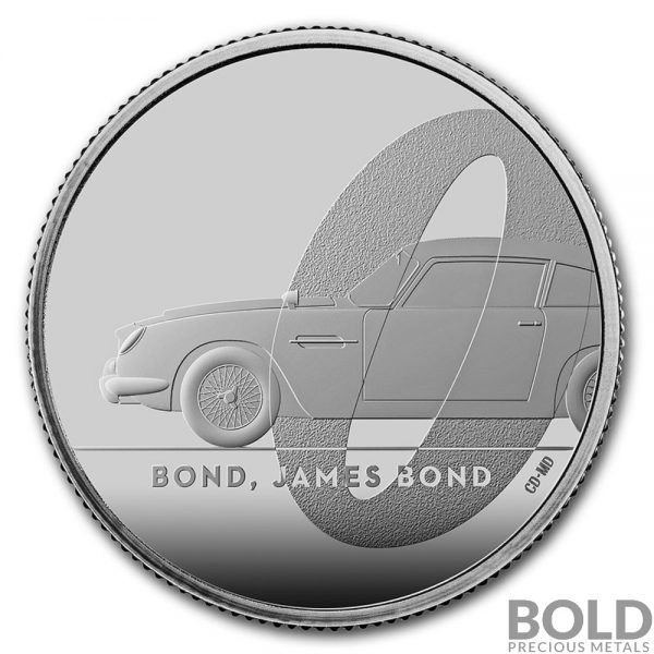 2020 Uk 1 2 Oz Silver James Bond 007 R1 Aston Martin Db5 Proof In 2020 James Bond Db5 Aston Martin Db5