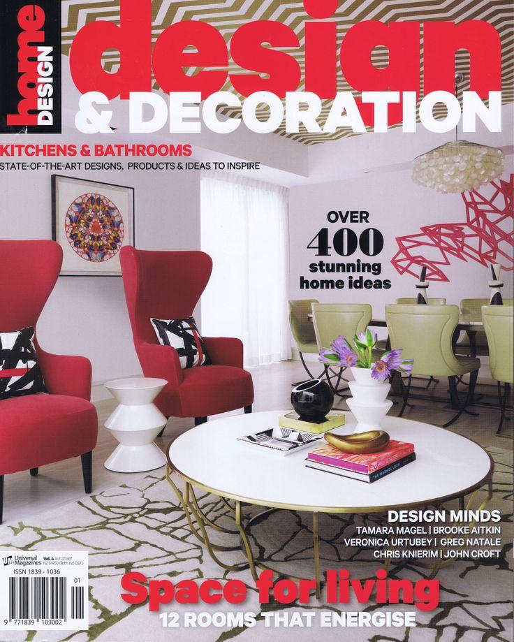 Design & Decoration Vol 4 Cover Brooke Aitken Design