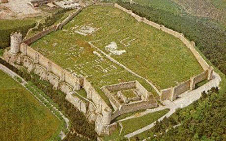 Lucera Castle, Italy. 41°30′00″N 15°20′00″E