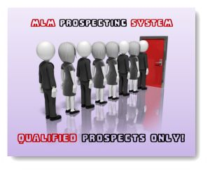 MLM Prospecting System  - Proven System to becoming a top earner in your mlm company