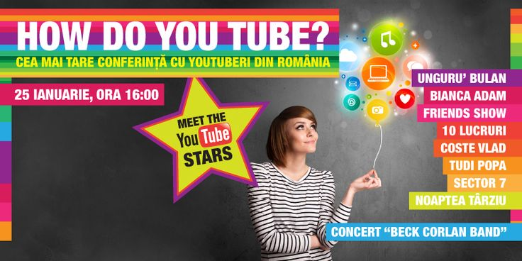 HOW DO YOU TUBE? LA ORADEA SHOPPING CITY - Evenimente in Oradea