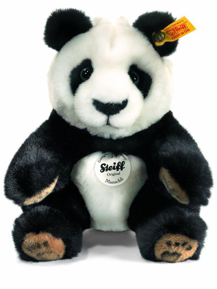 A gorgeously cute Steiff Manschli Panda.