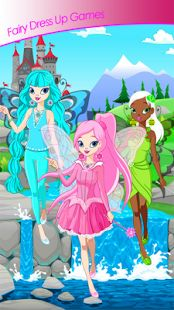 Download top Fairy Dress Up Games app free here https://play.google.com/store/apps/details?id=com.sparrowstudiogames.fairydressupgames  and start your dress up content. Use your imagination and make your own fairy fashion story. You will see new board with best categories: dresses, shoes, tops, jewelry, bags, and other accessories for fairy good looking. Welcome to fashion dress up world. Play fairy dress up games free and make a cool fairy princess for top fashion challenge.