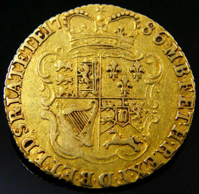 SCARCE  GOLD GUINEA 1786 GOLD COIN    CO 164 gold coin uk, england gold coins,Guinea 1778