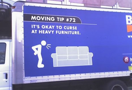 Budget truck Moving tip