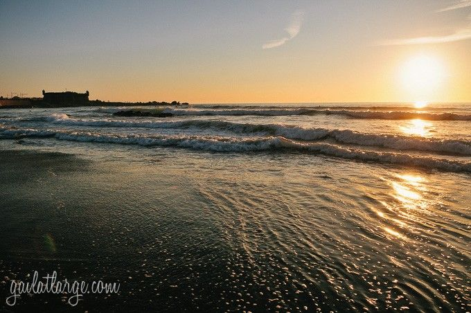 Sunset At Matosinhos Beach