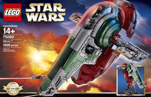 La tentation Lego Star Wars avec le Slave 1 UCS