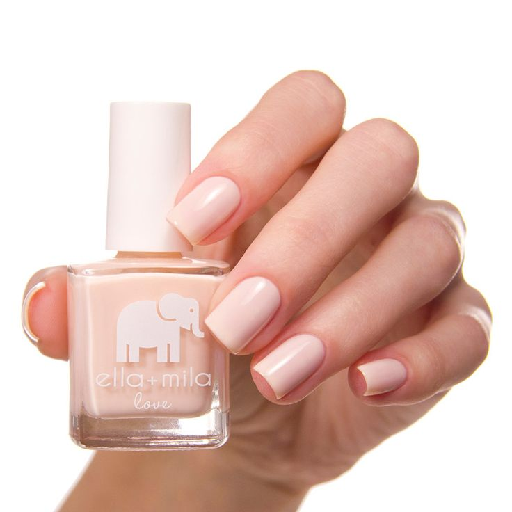 This amazing creme nail polish is a beautiful light pink to paint your nails for a subtle finish. Translucent. 2-3 coats recommended for a smooth semi-opaque finish. Collection: Love