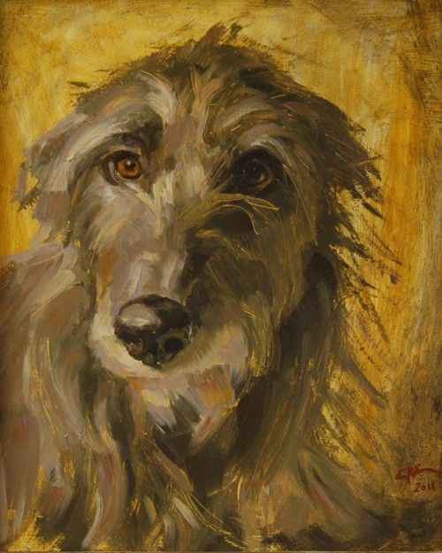 Claire Eastgate Canine Artist at Stockbridge Gallery Dogs in Art - Love this painting ... unfortunatley my bank balance says NO!