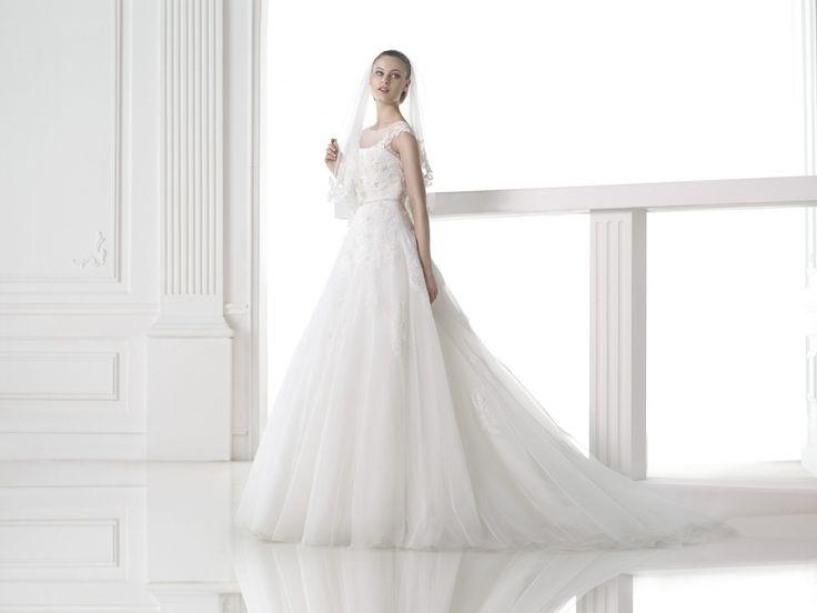 Mel - Pronovias - Esküvői ruhák - Ananász Szalon - esküvői, menyasszonyi és alkalmi ruhaszalon Budapesten