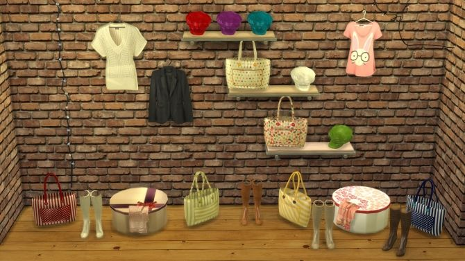 BOUTIQUE DECO 5 at Leo Sims • Sims 4 Updates