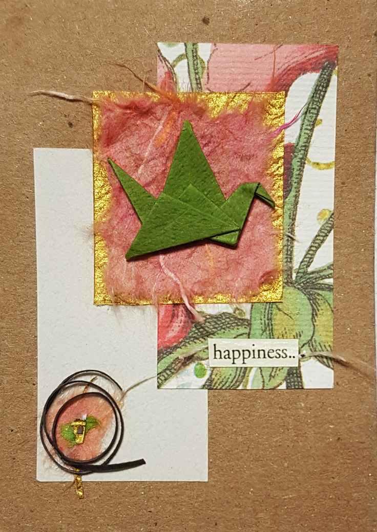 Each piece I make are different from each other so all of them are# unique little piece of #art :  #Frame them and #Collect them!  #original #handmade #origami #aceo  #ATC #ArtistTradingCards #折り紙