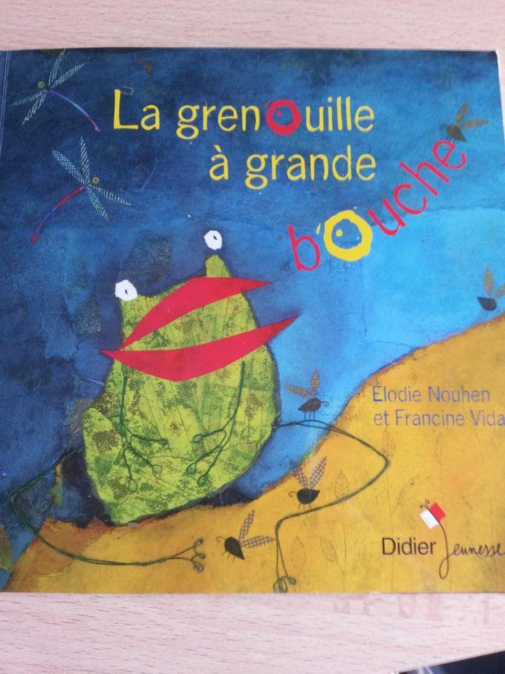 La grenouille à grande bouche d'E. Nouhen et F. Vidal est un grand classique des albums jeunesse. Voici des activités ludiques autour de ce livre
