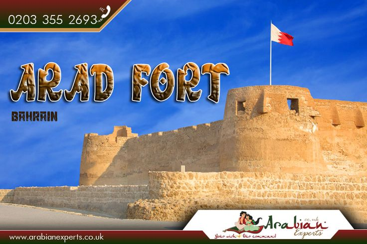 Arad Fort, Bahrain:  |    #Arad #Fort is a 15th-century fort in Arad, #Bahrain. Arad Fort was built in the typical style of #Islamic forts during the 15th #century A.D. before the #Portuguese invasion of Bahrain in 1622 A.D.  |     Source: https://en.wikipedia.org/wiki/Arad_Fort  |    #AradFort #CylindricalTower #FortsinBahrain #Travel #Flights #ArabianExperts #FlightstoAradFort #FlightstoBahrain  |    #Book #BahrainFlights: http://www.arabianexperts.co.uk/destinations/bahrain